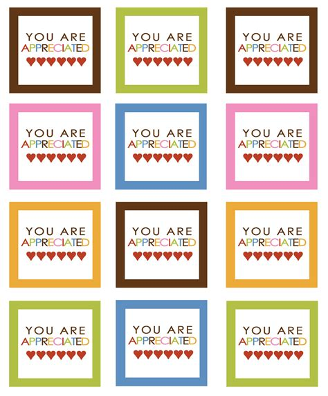 printable appreciation tags best photos of printable gift tags for teacher gifts