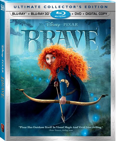 Brave 3d 1 brave pixar shorts vol 2 and dvd now on sale