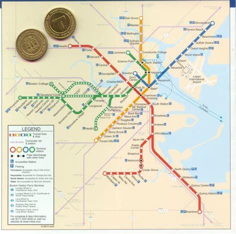 boston metro map boston t map free printable maps