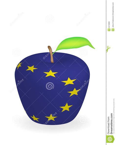 apple europe apple flag stock photo image 6472890