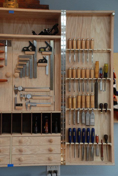 wall hanging tool cabinet 174 best woodworking tool cabinet wall images on