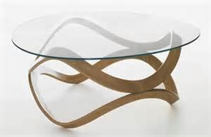 table salon en verre design