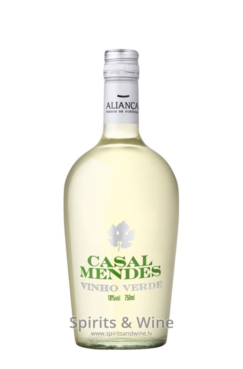 Mendes Drank Vodka Before With Joaquin 4 by Casal Mendes Vino Verde White Wine Spirits Wine