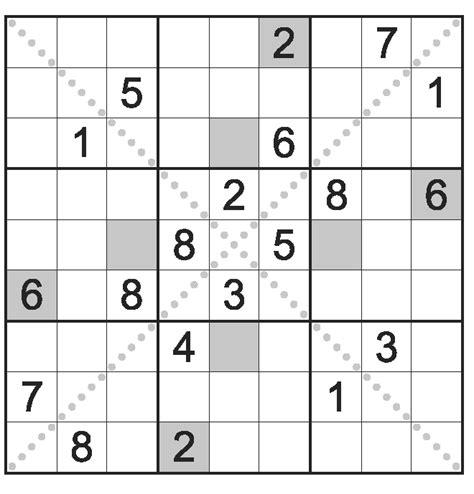 printable diagonal sudoku types of sudoku puzzles wpf