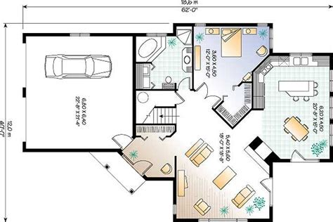 plan maison garage