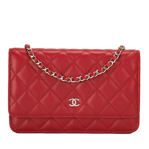 Sale Tas Wanita Lv Classic Woc chanel classic quilted lambskin wallet on chain woc world s best