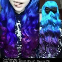 purple blue hair color how does my hair look now girlsaskguys