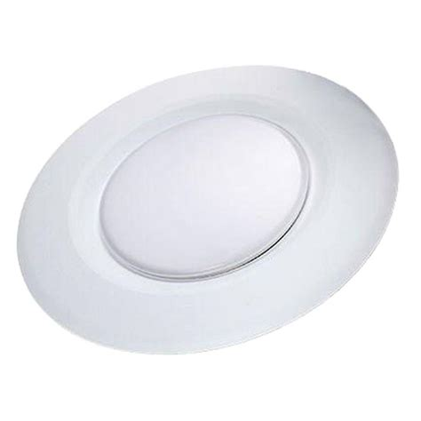 commercial led can lights commercial electric 4 in white recessed led can disk