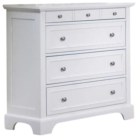 white bedroom dressers chests home styles naples 4 drawer chest in white finish