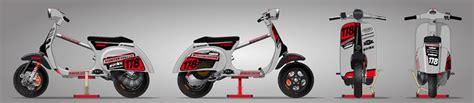 Aufkleber Honda Px by Stickers Vespa Antoine Fleury