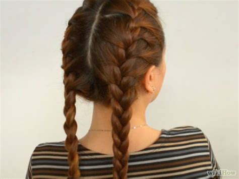 how to do two french braids with weave do double french braids double french braids french and