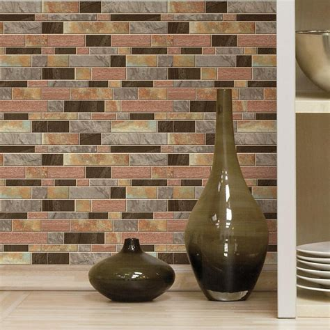 peel and stick tiles for kitchen backsplash 4 pack peel and stick decals kitchen bathroom backsplash