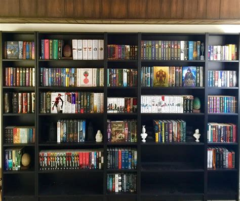 fantasy bookshelf overview for north3648