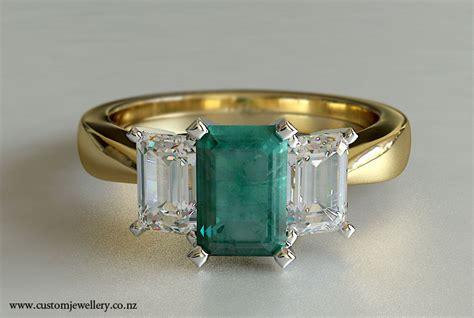 emerald cut 3 emerald and engagement new zealand