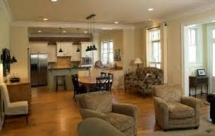 open kitchen and living room decor best about open floor