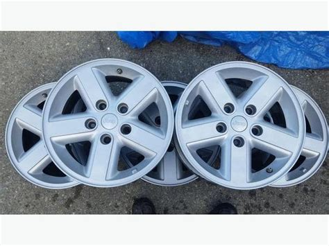 16 Inch Jeep Wheels 5 Jeep Aluminum 16 Inch Rims Sooke