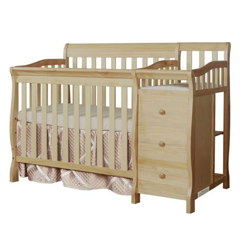Mini Crib With Attached Changing Table Mini Crib With Changing Table Sorelle Newport 3 In 1 Mini Convertible Crib U0026 Changer Combo