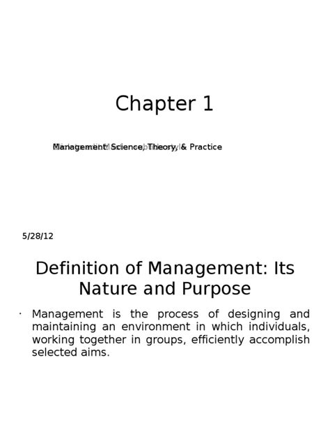 Principles of Management All Chapters PPT | Human Resource