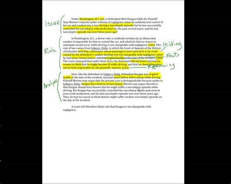 School Briefformat 17 Irac With Cases Sle Memo