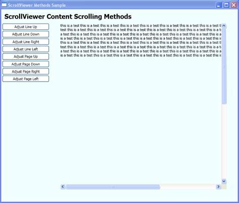 tutorial vb net wpf hidden scrollviewer scrollviewer 171 windows presentation