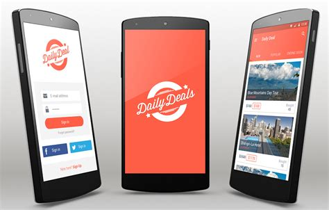 best templates for android apps deals android app template