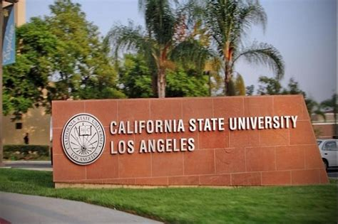 California State Los Angeles Mba Cost by California State Usa Courses Fees