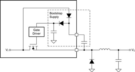 bootstrap circuit technique bootstrap capacitor switching regulator 28 images international rectifier technical