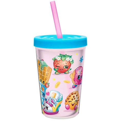 Gig Baby Straw Cup Small shopkins tumbler with straw by zak