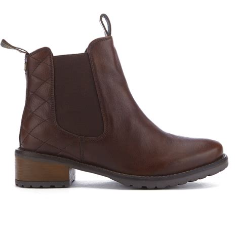 barbour s latimer leather chelsea boots chestnut