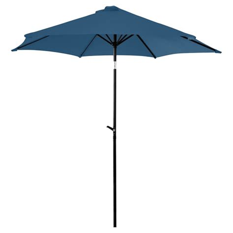 Rona Patio Umbrella Tilting Patio Umbrella 8 8 Navy Rona