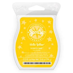 Hello Yellow by March Scent Of The Month Hello Yellow Scentsy And My