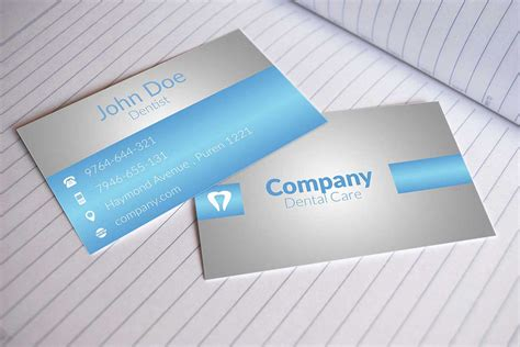 dentist business card template 60 only the best free business cards 2015 free psd