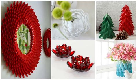 Cheap And Easy Diy Home Decor by Top 15 Diy Plastic Spoon Home Decorating Ideas Fab Art Diy