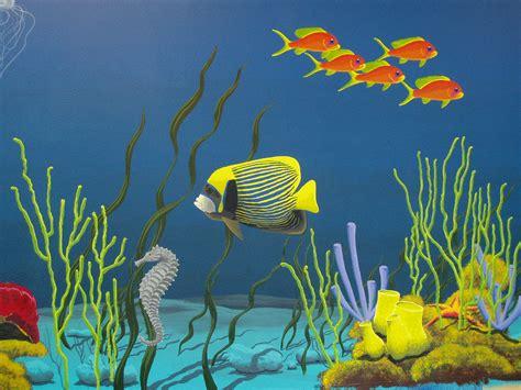 Baseball Murals For Walls underwater mural