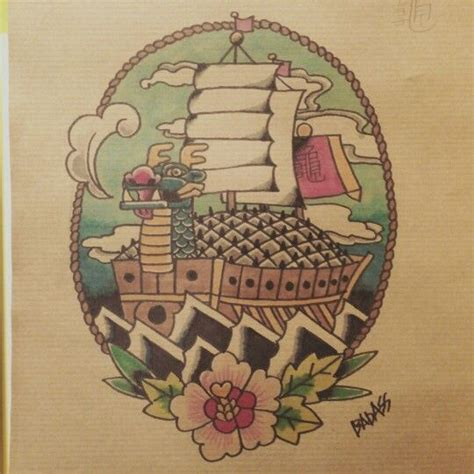 tattoo flash turtle badass tattoo flash korean turtle ship by badass tattoo
