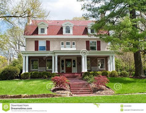 white home dream home house steps suburbs shutters front this would be the color of our house if bryan would let