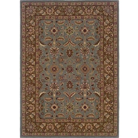 rugs rectangular area rug in light blue brown rug tt05xx