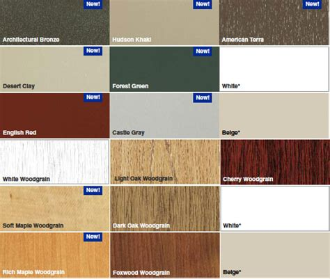 window colors window color collections color options window world