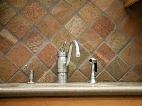 slate backsplashes for kitchens kitchen backsplash tile ideas hgtv