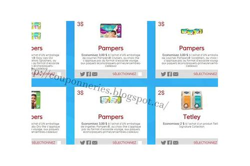 coupon pampers a imprimer