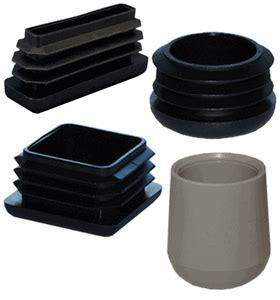 Plastic Chair Glides & Furniture Feet   Round, Square