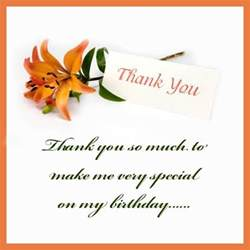 Quotes Saying Thank You For Birthday Wishes Thank You For Birthday Wishes Quotes Quotesgram