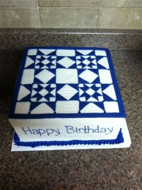 How To Quilt A Cake With A Ruler by Quilt Cake By Jenje On Cakecentral To Eat