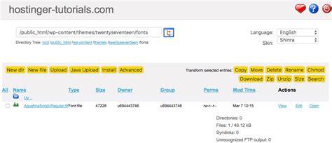 tutorial wordpress edin wordpress e 214 zel yazı tipi ekleme hostinger rehberler