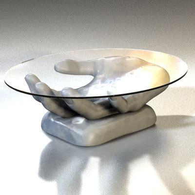 Han Table designer glass table 3ds