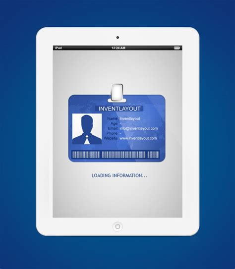 Pvc Id Card Template Psd by Identification Card Psd Inventlayout