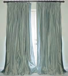 Dupioni Silk Curtains Silk Dupioni Drapes Traditional Curtains New Orleans By Drea Custom Designs