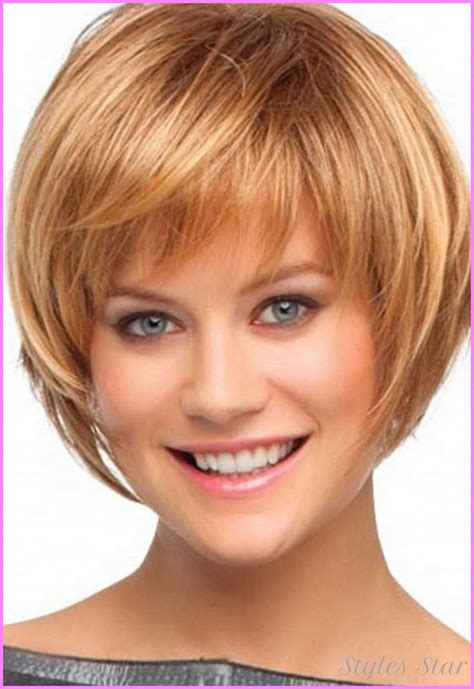 bob cut hairstyles photo cute bob haircuts with bangs stylesstar com