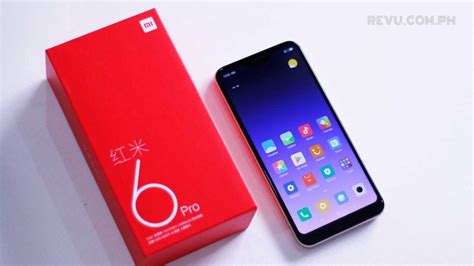 xiaomi redmi 6 pro unboxing and 1st impressions rev 252