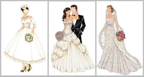 fashion illustration wedding dresses a custom illustration of your bridal gown plus giveaway houston wedding